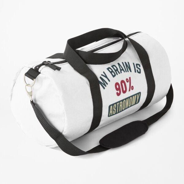 My brain is 90% astronomy (full) Duffle Bag