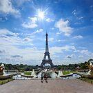 Eiffel Tower by Nick Jermy