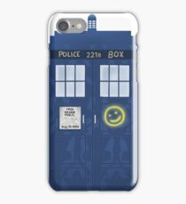 Sherlock's Tardis iPhone Case/Skin