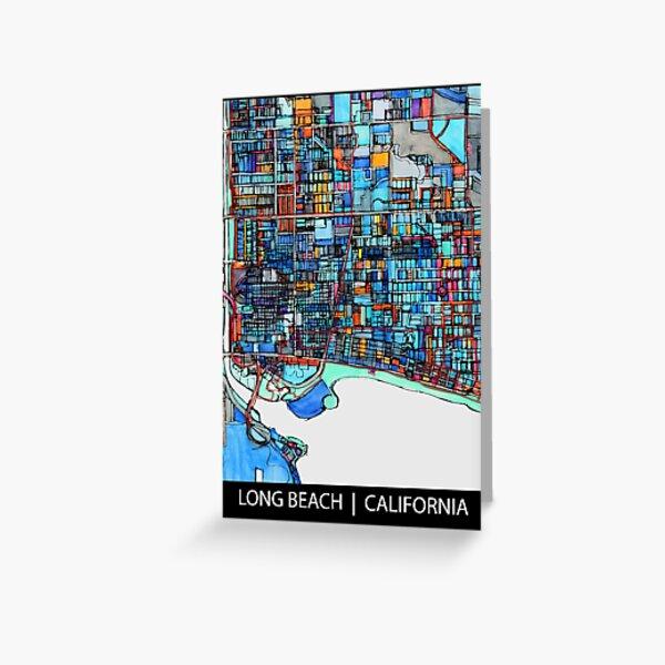 Long Beach, CA Greeting Card