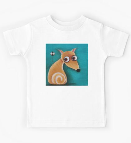 The dog and the spider Kids Clothes
