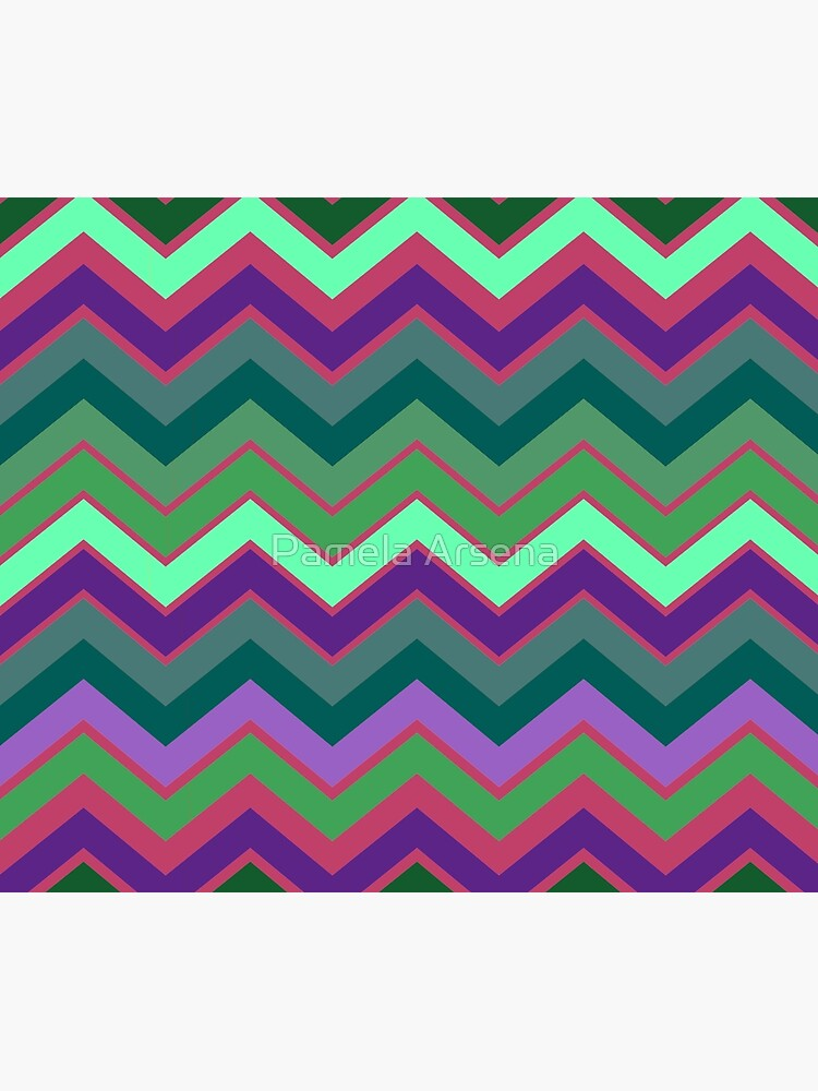 Cute Retro Stripe Decor Pattern by xpressio