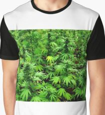 Marijuana (Weed) Graphic T-Shirt