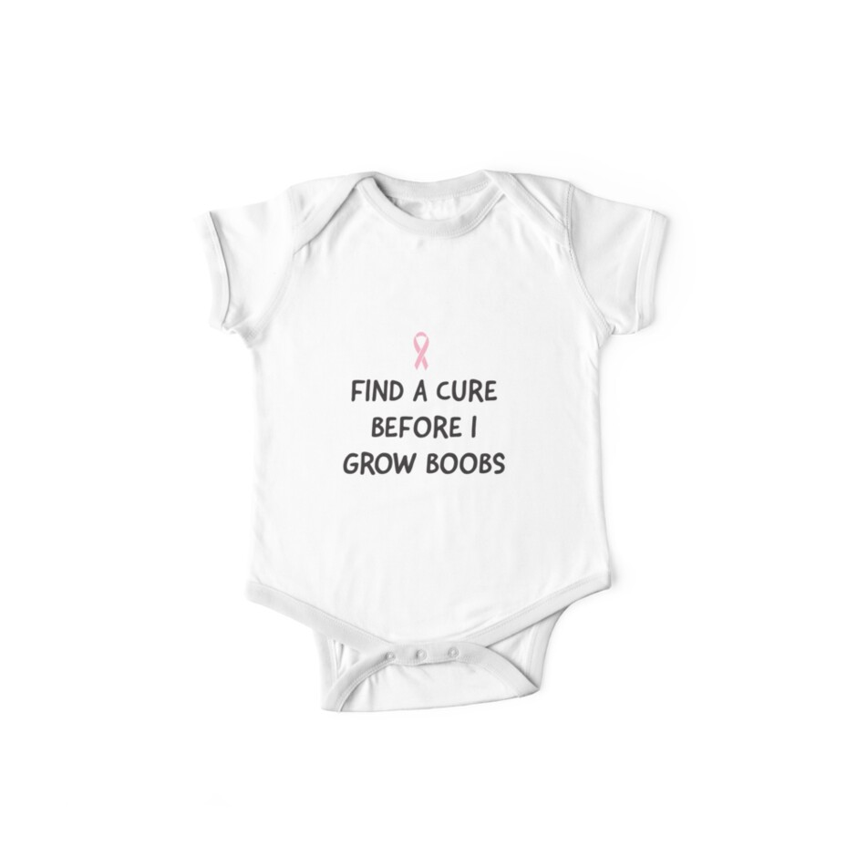 Find a Cure Before I Grow Boobs by causes