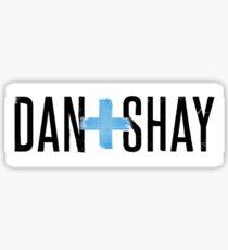 Dan and Shay logo Sticker
