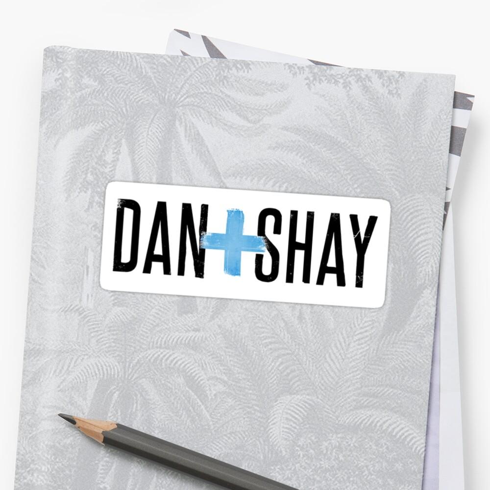 """""""Dan And Shay Logo"""" Sticker By 154receedeacon"""