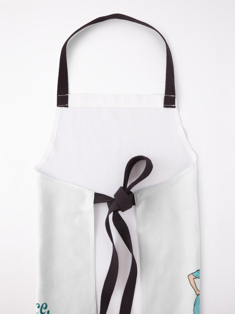 """Alternate view of Kath and Kim, """"Yes, I am high maintenance..."""" Apron"""