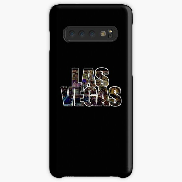 Las Vegas lettering Neon Black Edition Samsung Galaxy Snap Case