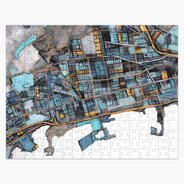 Berkeley, CA Jigsaw Puzzle