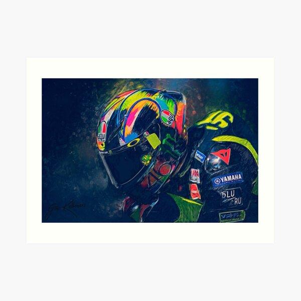 Valentino Rossi #46 Art Print