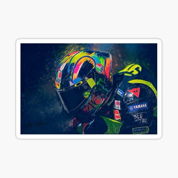 Valentino Rossi # 46 Pegatina