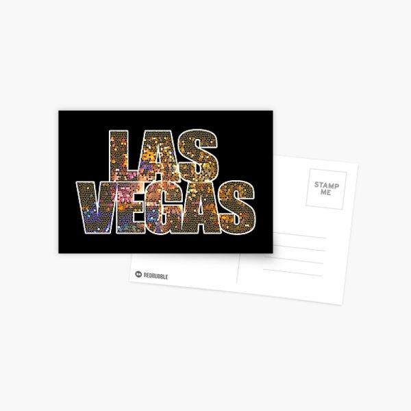 Las Vegas Strip Sin City Glamor Casino Nevada USA Postcard