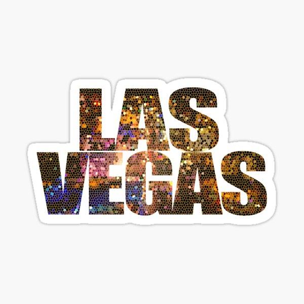 Las Vegas Strip Sin City Glamor Casino Nevada USA Sticker