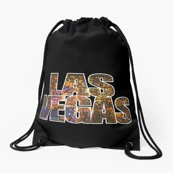 Las Vegas Strip Sin City Glamor Casino Nevada USA Drawstring Bag