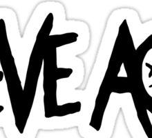 STEVE AOKI - LOGO Sticker