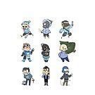 Blu Team!! by Skitty Vasquez