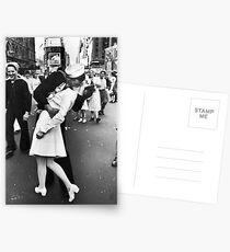 Times Square V/J-Day Kiss Postcards
