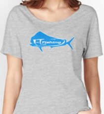 Mahi Mahi FL fishing T-shirt Women's Relaxed Fit T-Shirt
