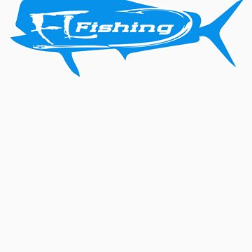 Mahi Mahi FL fishing T-shirt by ContactLenz