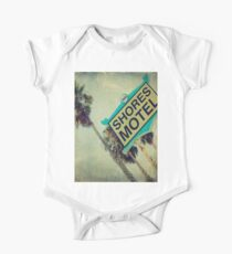 Shores Motel and Palms  One Piece - Short Sleeve