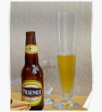 Pilsener Beer Poster
