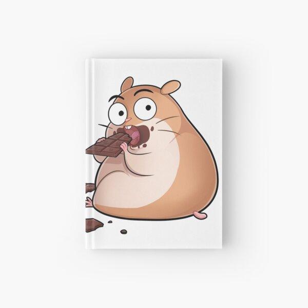 Schokolade essender knuddeliger Hamster Notizbuch