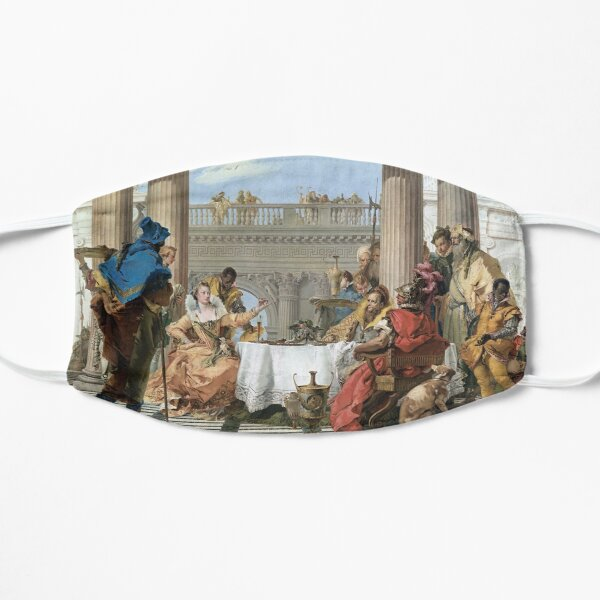 Giambattista Tiepolo The Banquet of Cleopatra Flat Mask