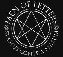 Supernatural - Men of Letters - Dark | Unisex T-Shirt