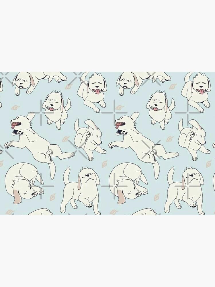 White Dog (Akamaru) pattern by Kikiko15