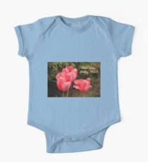 And Baby Makes Three One Piece - Short Sleeve