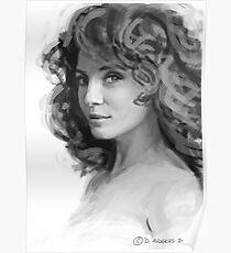 Female head study #2 Poster