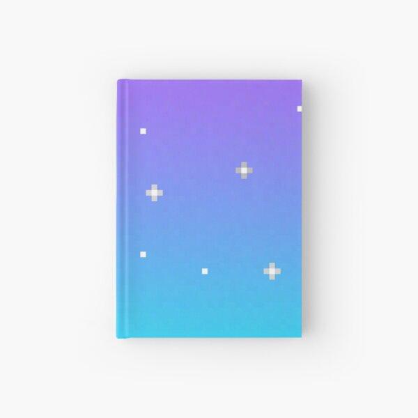 Pixel Night Sky Hardcover Journal