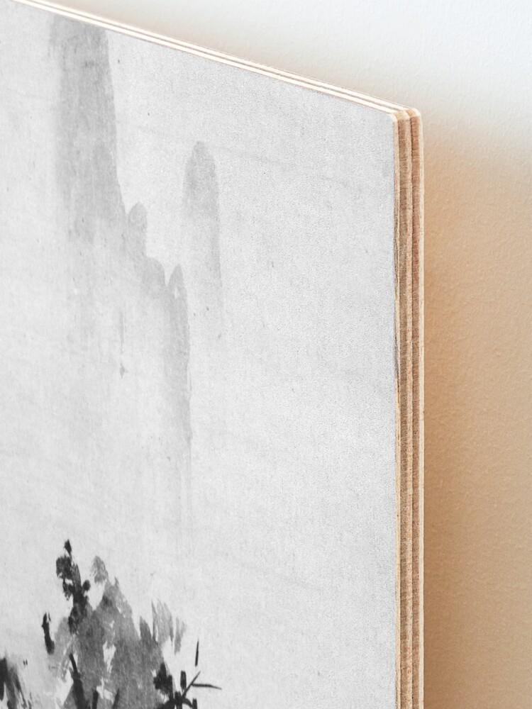 Alternate view of Sesshu Toyo Haboku-Sansui Landscape Mounted Print