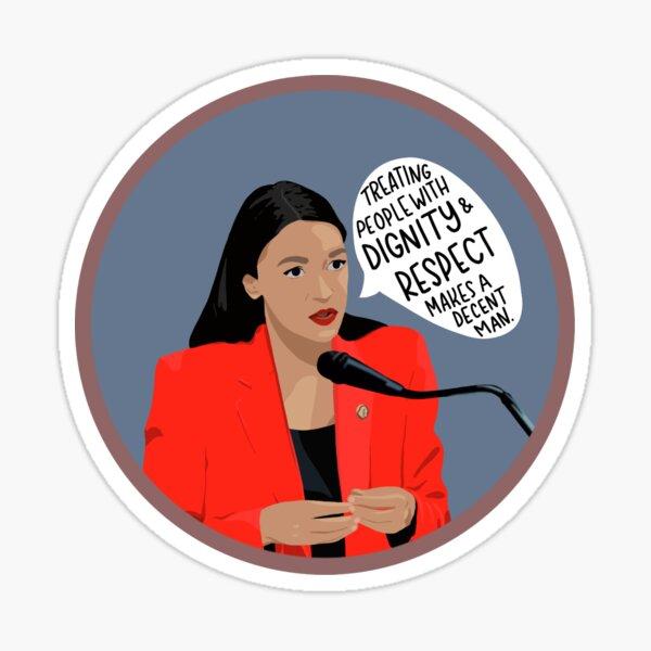 AOC Quote Sticker