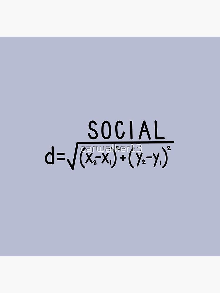 Social Distance (formula) by carwalker13