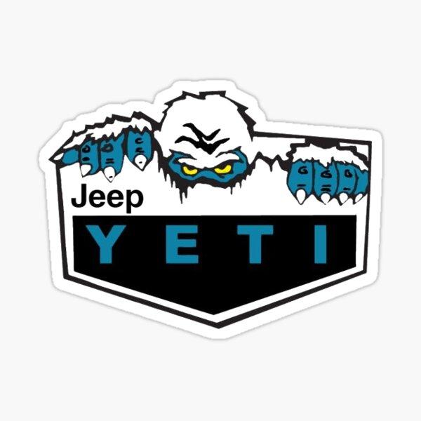 Jeep Wrangler Rubicon Yeti Pegatina