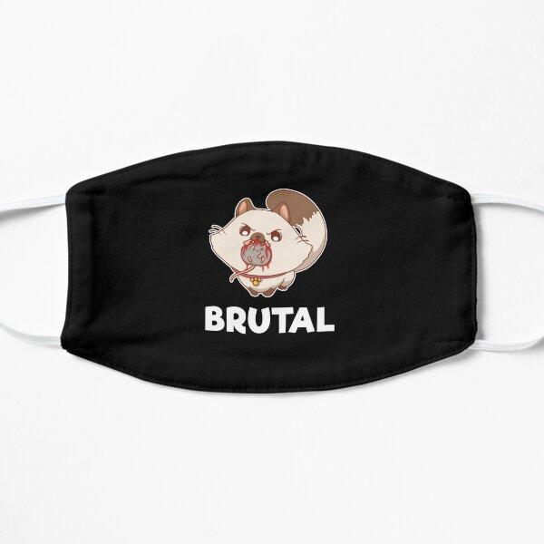 Brutal Cat Violent Bloody Feline Gruesome Graphic Mask