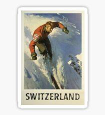 Vintage poster - Switzerland Sticker