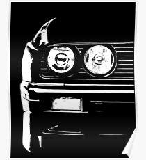 E30 Headlight Closeup Poster