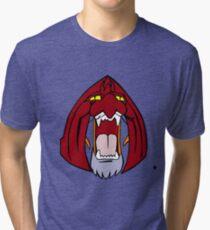 The Face of Battle Cat  Tri-blend T-Shirt