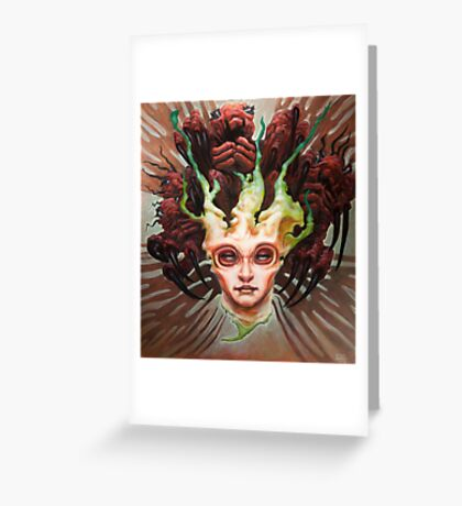 The Array  Greeting Card