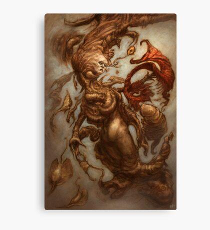 The Emulsifying Mermaid Canvas Print
