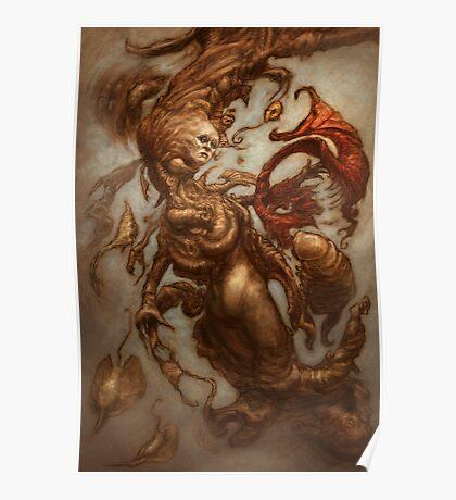 The Emulsifying Mermaid Poster