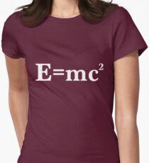 Camiseta entallada para mujer E = MC2