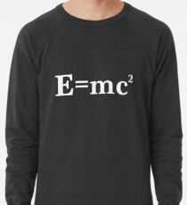 Sudadera ligera E = MC2