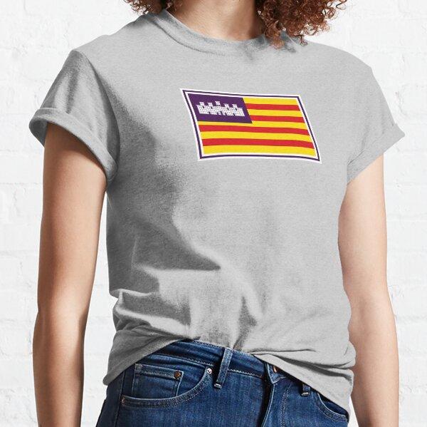 Balearen Inseln Flagge Geschenke, Aufkleber & Produkte Classic T-Shirt