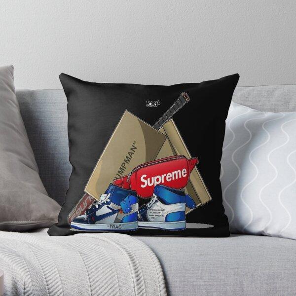 '100' Throw Pillow
