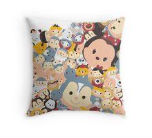 TSUM TSUM !!! Throw Pillow
