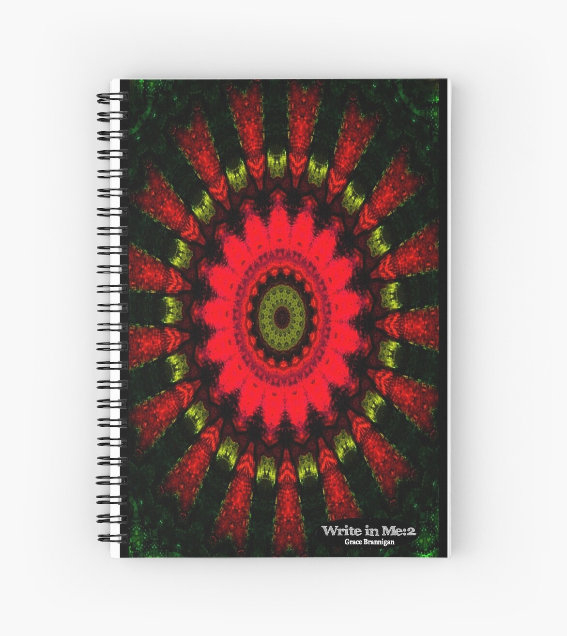 Mandala Spiral Notebook by ExceptionalSilk