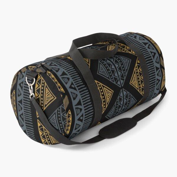 African Tribal Pattern Duffle Bag